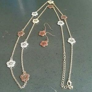 Jewelry - Fashion Necklace & Earrings Set
